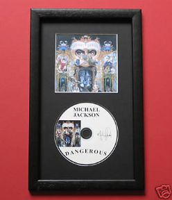 MICHAEL JACKSON - DANGEROUS CD Disc MEMORABILIA presentation